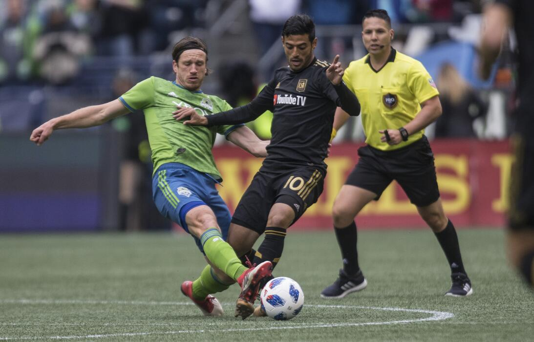 Seattle Sounders 0-[1] Los Angeles: la MLS dio inicio este fin de semana...