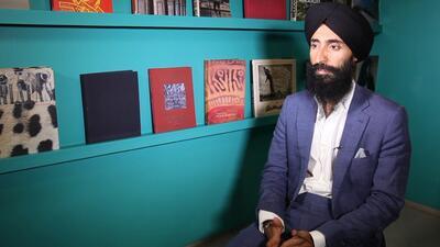 Waris Ahluwalia: mi turbante es un recordatorio de que tengo que hacer l...