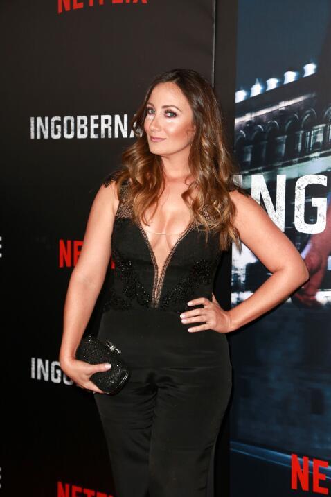 Karla Monroig, actriz y colaboradora en Despierta América, también lució...