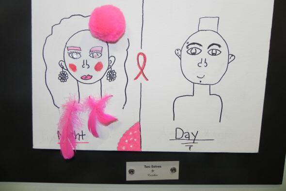 Antes y después... solo en horas...   este dibujo por una nena de St. Ju...