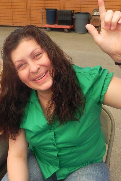 Las mujeres también son amantes del balonpié como Marisol Aguilera, coci...