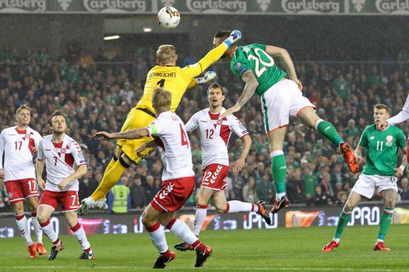 Dinamarca sella su pase al Mundial con goleada sobre Irlanda gettyimages...