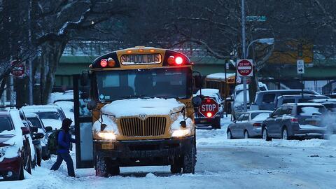 Tormenta invernal en NJ, NY y CT