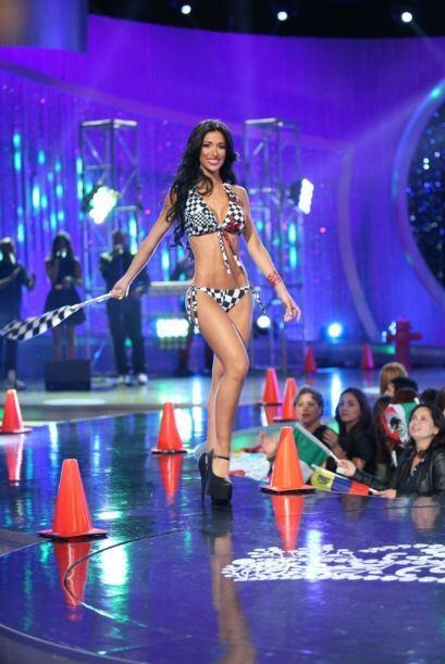 Los trikinis también formaron parte de esta emocionante gala.