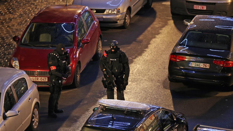 Operación antiterrorista en Bruselas, Bélgica
