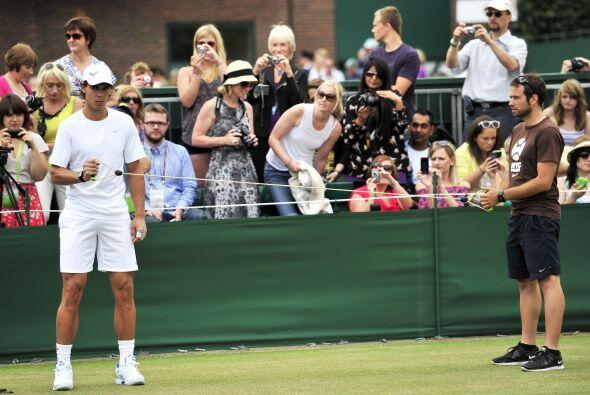 El tenista español no ha dejado de entrenar ni un solo día pese a esas m...