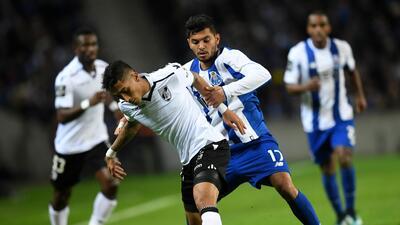 El Porto goleó al Vitoria con 'Tecatito', Reyes y Layún en la cancha