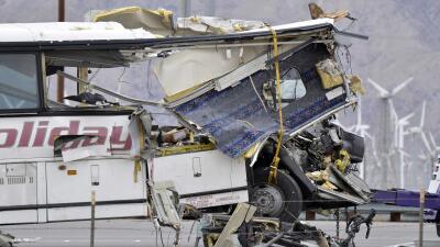 Los clientes del autobús siniestrado aseguran que el chofer solía dormitar al volante