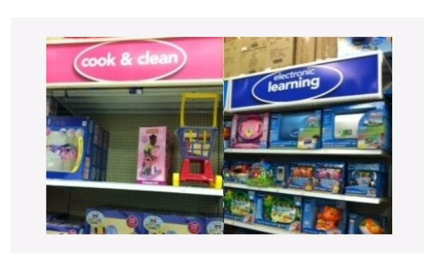 La organización británica Let Toys Be Toys hace campaña desde hace años...