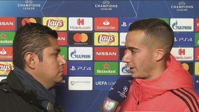 """Lucas Vázquez aseguró que ante la Roma """"era importante no arrugarse"""""""