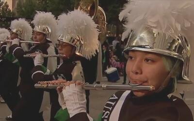 Houston festejó su desfile número 67 con motivo de la celebración de Acc...