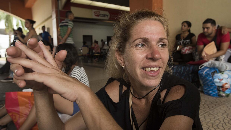 Esta es la segunda vez que Arelys Trujillo Pereira trataba de llegar a E...