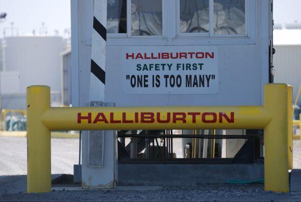HALLIBURTON- La compañía que da servicios petroleros reportó un alza de...