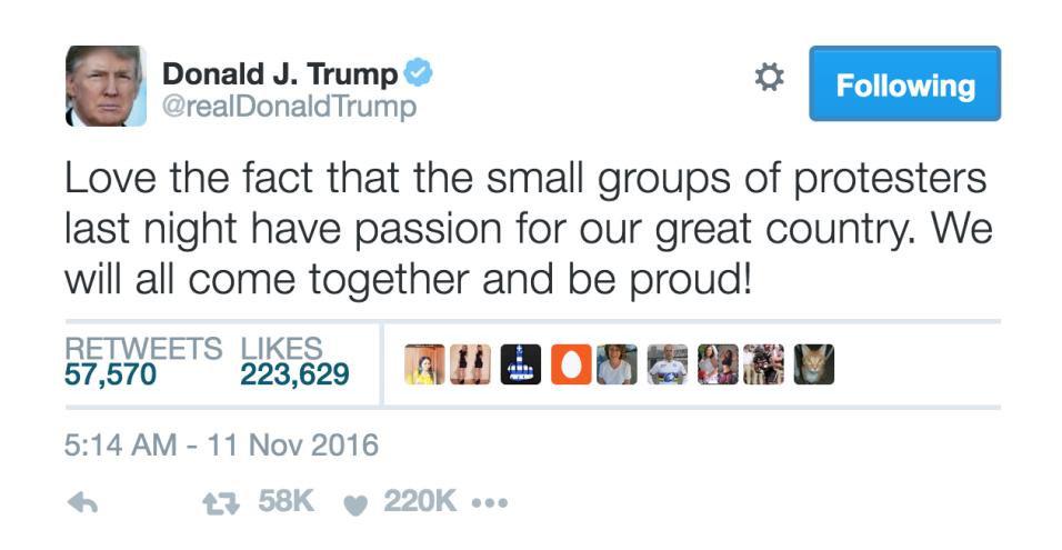¿Podrá la cuenta de Donald Trump salvar a Twitter? Captura de pantalla 2...