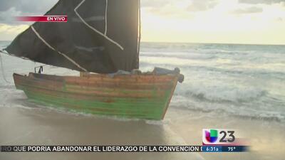 Ocho cubanos llegan a la playa de Bal Harbour