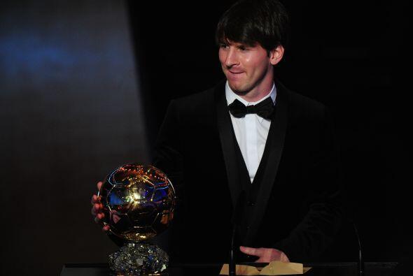 Por segundo año consecutivo, Messi fue elegido el mejor del orbe.