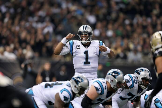 Los Carolina Panthers vencieron 41 - 38 a los New Orleans Saints para ll...