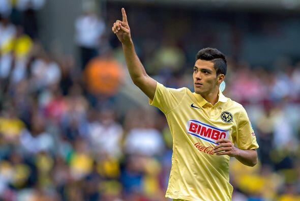 El delantero inició con racha goleadora el torneo mexicano ayudando a su...