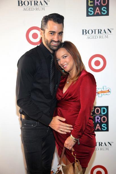 La que lució realmente radiante con su embarazo fue Adamari López.