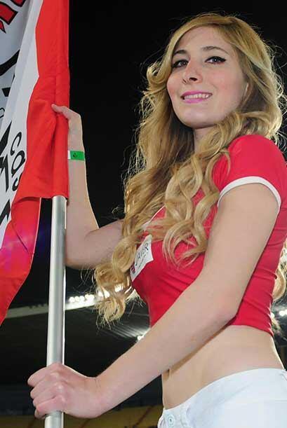 Vota por las porristas del Atlas vs. Monterrey en la jornada 8, uienes t...