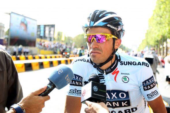 """Contador aseguró a la agencia Efe, que no irá """"nunca más al Giro antes d..."""