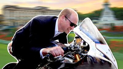 El príncipe William en la carrera de motos más peligrosa del mundo