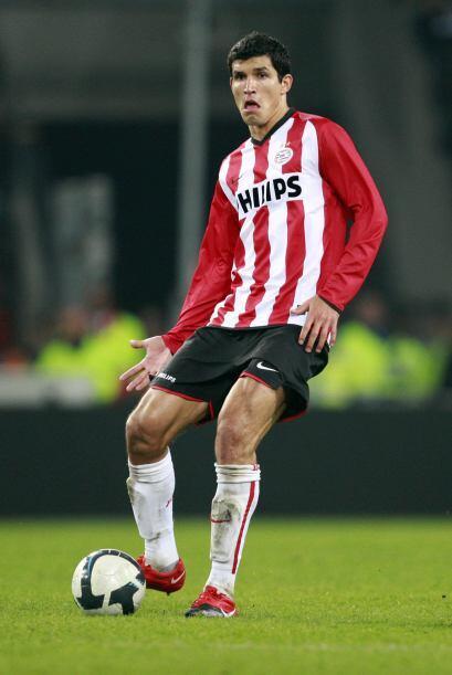 El Maza fue el tercer futbolista mexicano en jugar en el futbol holandés...