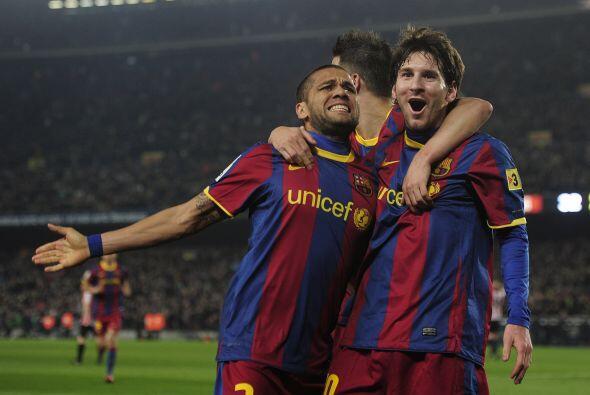 Ese gol significó la victoria para los barcelonistas que, de este modo,...