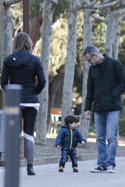 Milan estuvo toda la tarde con sus abuelitos. Mira aquí los videos más c...