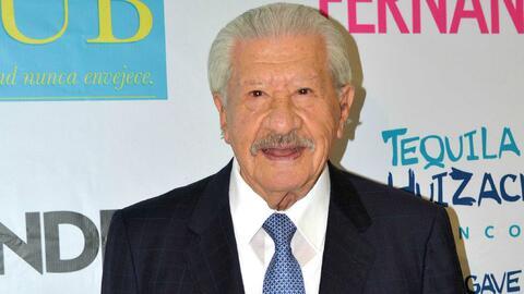 Ignacio López Tarso asegura tener novia a sus 92 años de edad