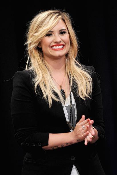 """Demi Lovato empezó su carrera en las series de Disney """"Camp Rock"""", """"Sonn..."""