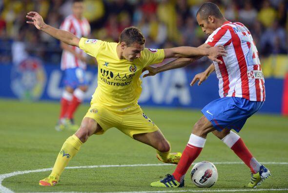 Finalmente, el Villarreal recibió al Atlético de Madrid.