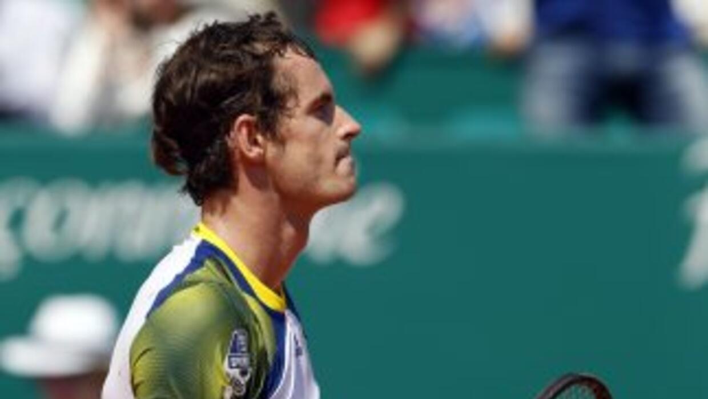 Murray dice ¡Adiós! a la arcilla de Montecarlo y al número dos mundial.