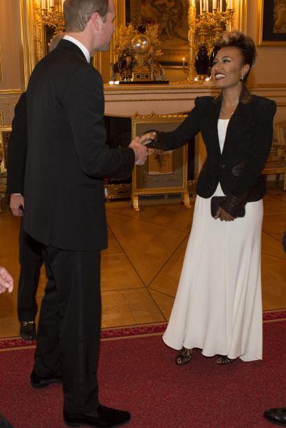 William con la cantante Emeli Sande.Mira aquí lo último en chismes.