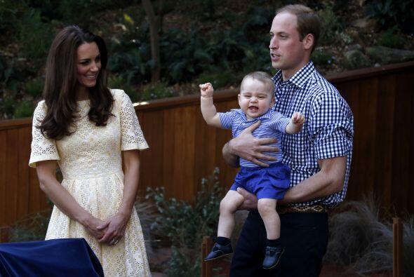 William y Kate, por supuesto, se llevaron al pequeño George Alexander Lo...