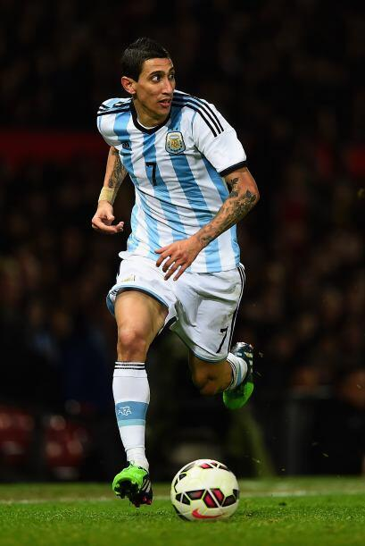 El 'Fideo' tuvo un estupendo Mundial en Brasil donde ayudó a Argentina a...