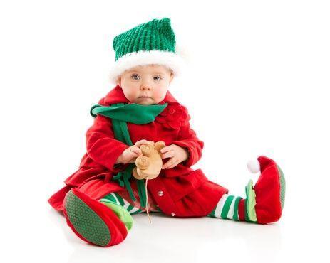 ¿Tienes un pequeño bebé travieso y juguetón en casa? Vístelo de duende p...