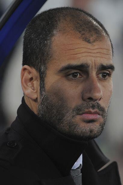 Pep Guardiola incluso perdió la cabeza en el partido tras ser expulsado.