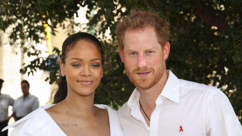 Rihanna y el príncipe Harry en Barbados