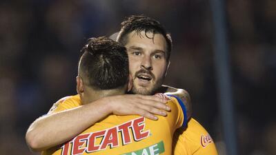 En fotos: Con polémica y lluvia de goles los Tigres derrota al Pachuca