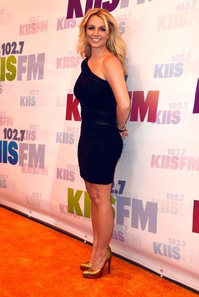 Britney Spears tiene una bolita que le sube y le baja llamada panza, la...