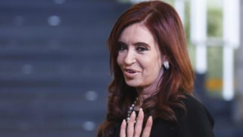 La presidenta de Argentina,Cristina Fernández.