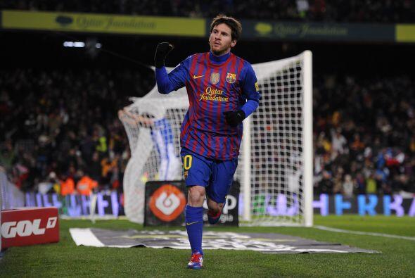 Messi lo gritó con toda la fuerza, sigue a un tanto de Cristiano...