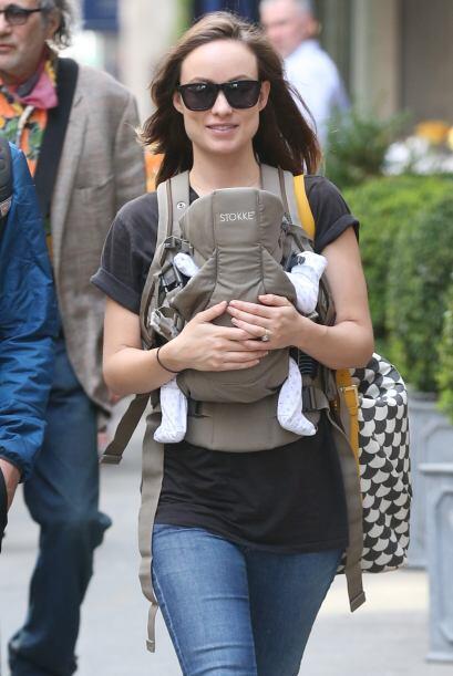 La estrella de cine se estrenó como mamá recientemente y y...