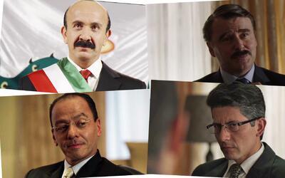 Presidentes Mexico en la serie El Chapo