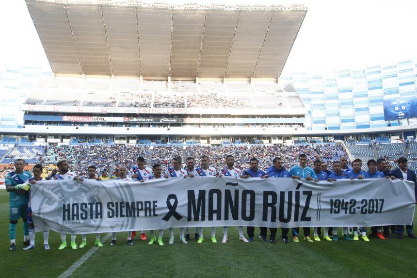 Morelia derrotó a Puebla con gol de último minuto Homenaje a Anibal Ruiz...