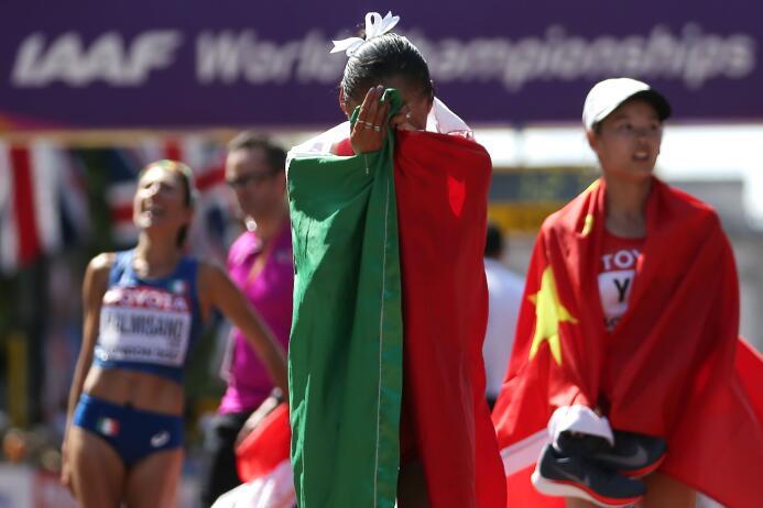 Lupita González, la guerrera del atletismo mexicano GettyImages-83099742...
