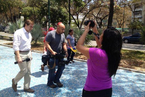 En marzo, fuimos a Venezuela a cubrir la conmoción que vivió ese país tr...