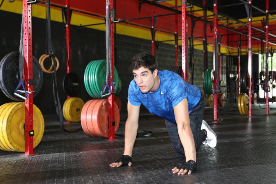 Danilo es parte de la campaña de Univision Contigo Reto 28.