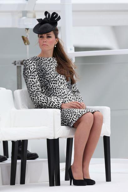 Kate Middleton hizo su última aparición pública, antes de convertirse en...
